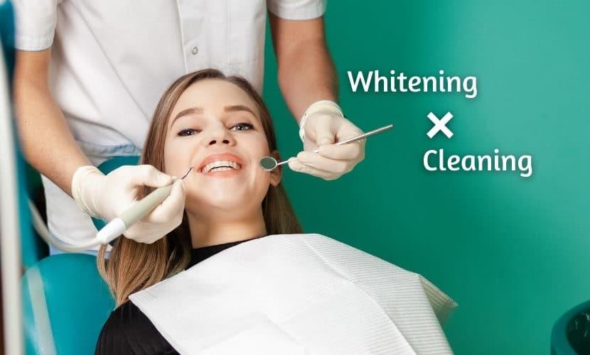 ホワイトニングの時のクリーニングと歯石取りの必要性