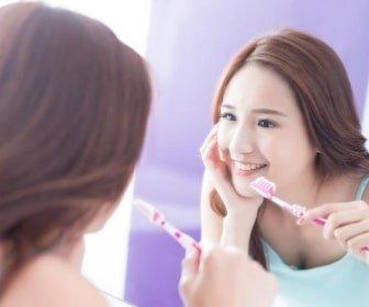 ホワイトニング後の歯磨き